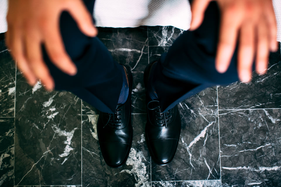 eleganti scarpe nere da uomo matrimonio