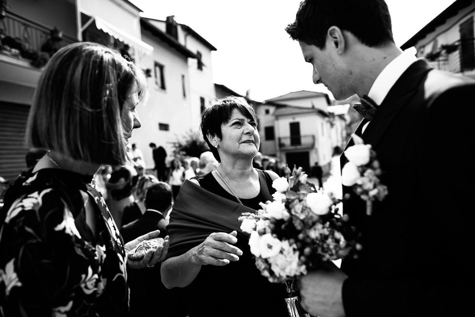 mamma e suocera delo sposo