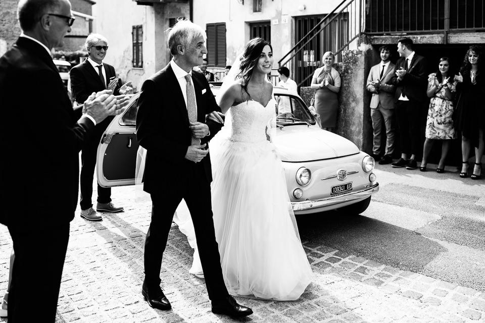 vestito papà sposa al matrimonio
