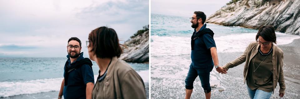 ritratti fotografici di coppia a settembre