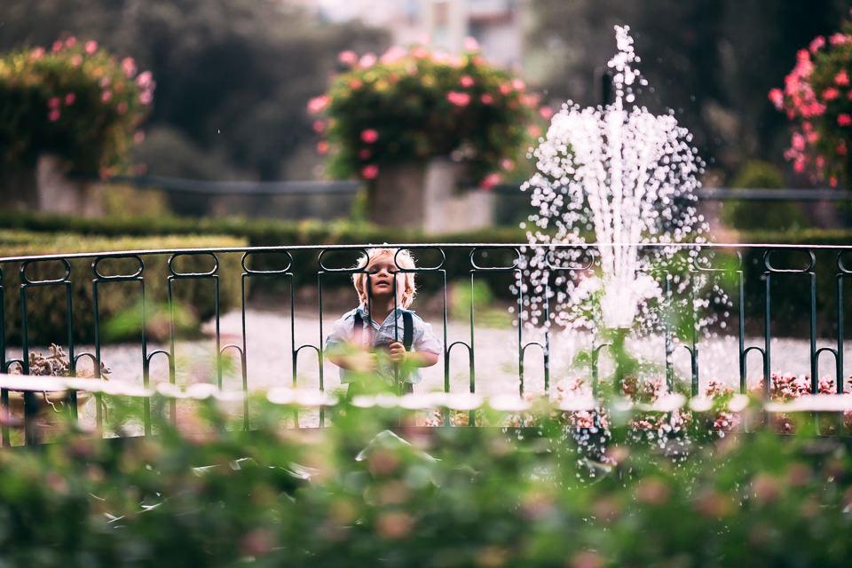 la fontana di villa faraggiana