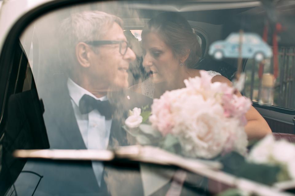 fiat 500 bianca auto del matrimonio a positano