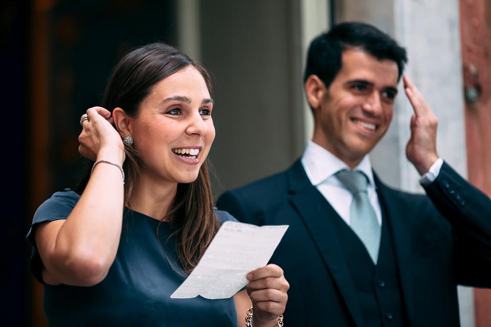 i testimoni degli sposi in villa faraggiana