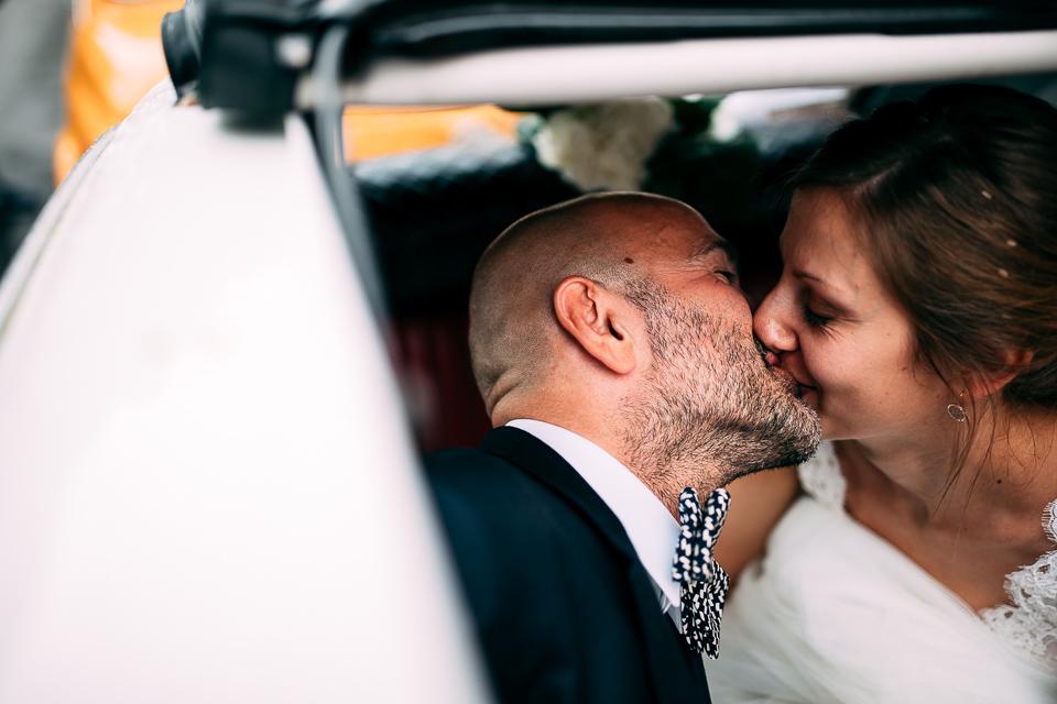 automobile degli sposi una fiat 500 bianca a positano