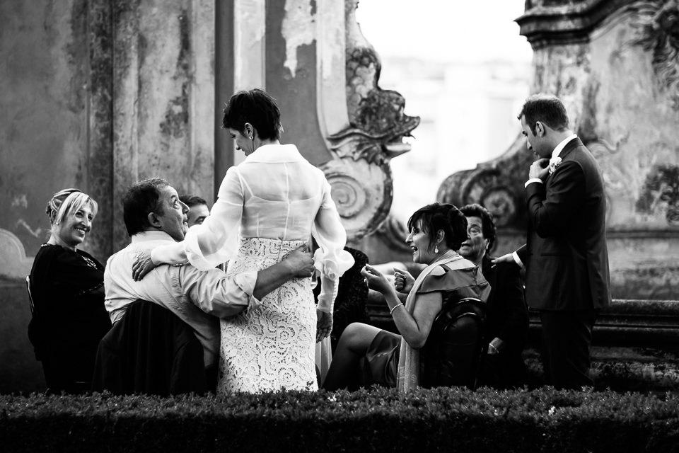 apericena di matrimonio in villa faraggiana