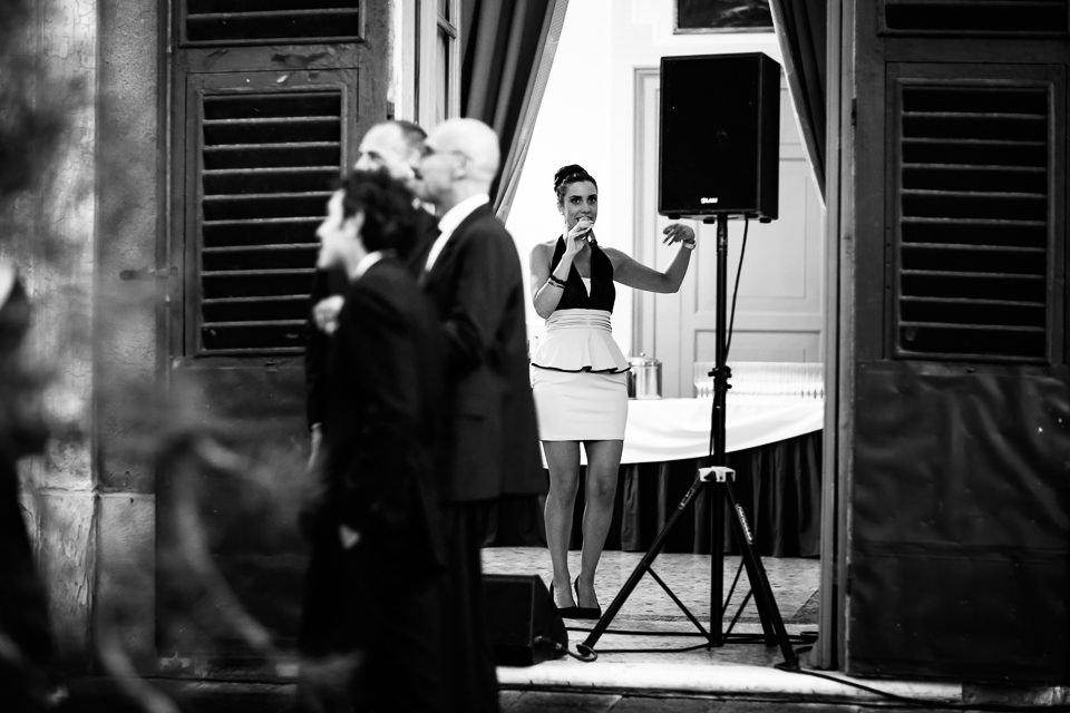 intrattenimento musicale di rosantique per matrimonio in villa faraggiana