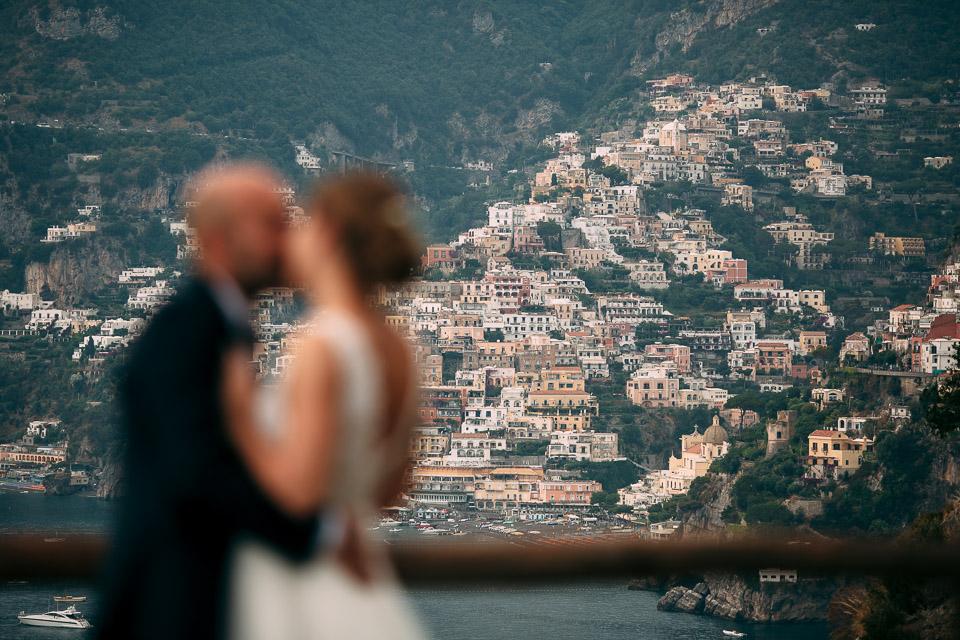 matrimonio con vista sul golfo di positano