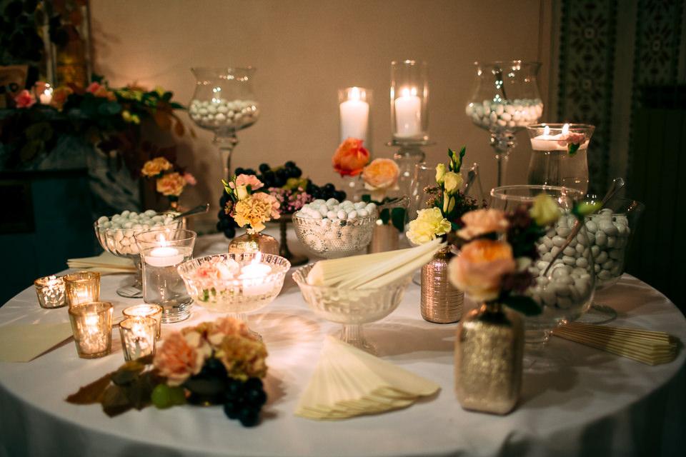 confettata di matrimonio in villa faraggiana