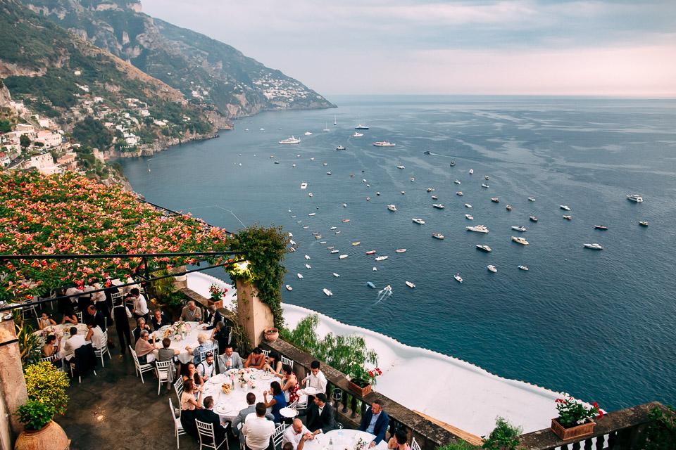 location matrimonio con vista sulla costiera amalfitana