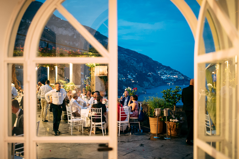 seaside location for wedding in Positano, Amalfi Coast
