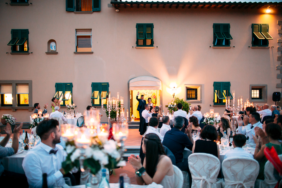 il poggetto resort una cena di matrimonio in toscana