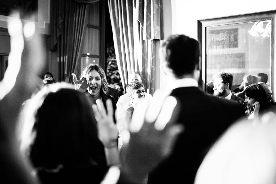 sposi ballano sulle note della deejay rosantique di milano
