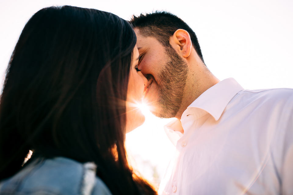 coppia di innamorati nelle langhe