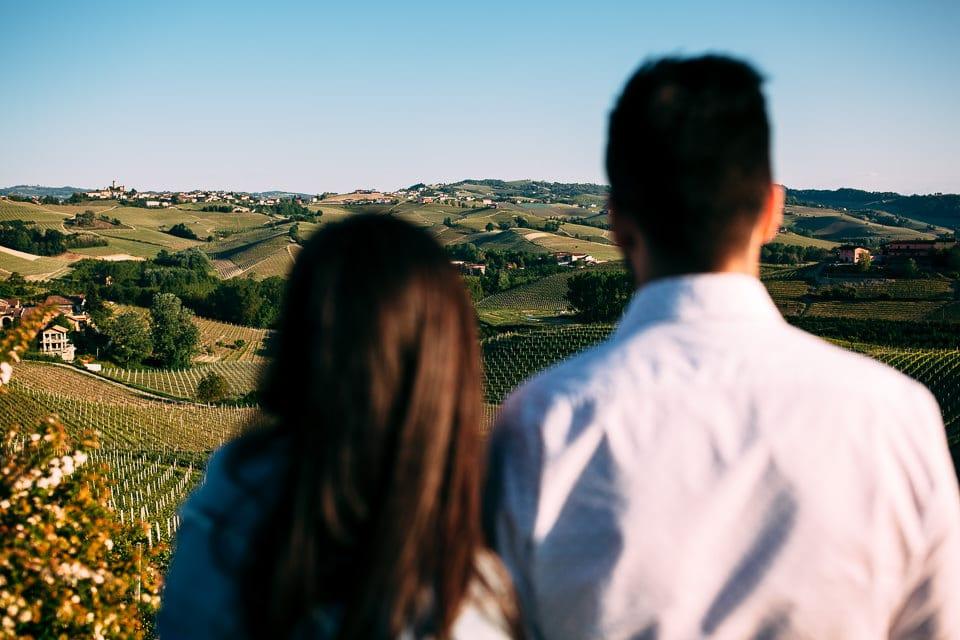 il meraviglioso paesaggio delle langhe