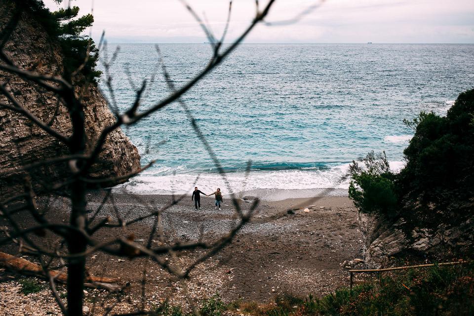il mar ligure a settembre