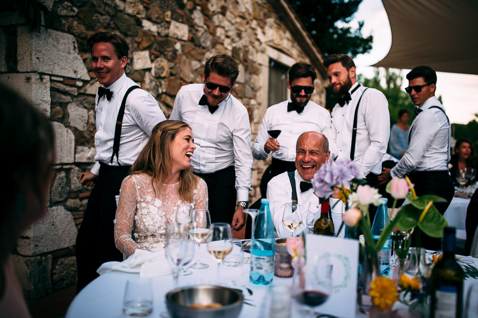 Norwegian wedding in Tuscany