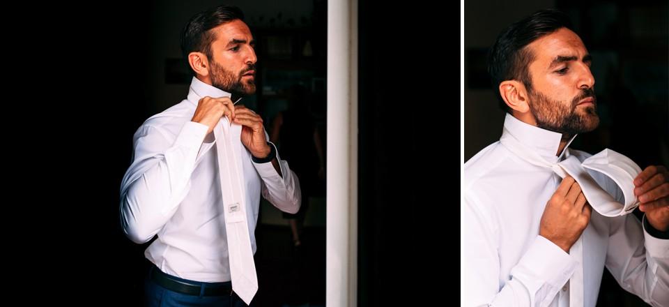 cravatta dello sposo