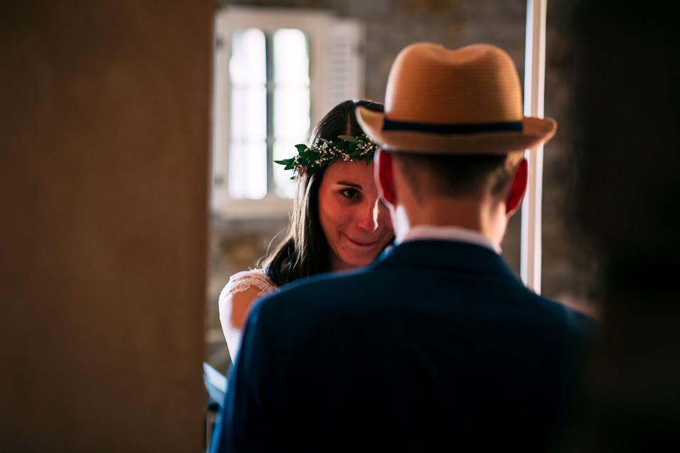 coppia di sposi tedeschi innamorati