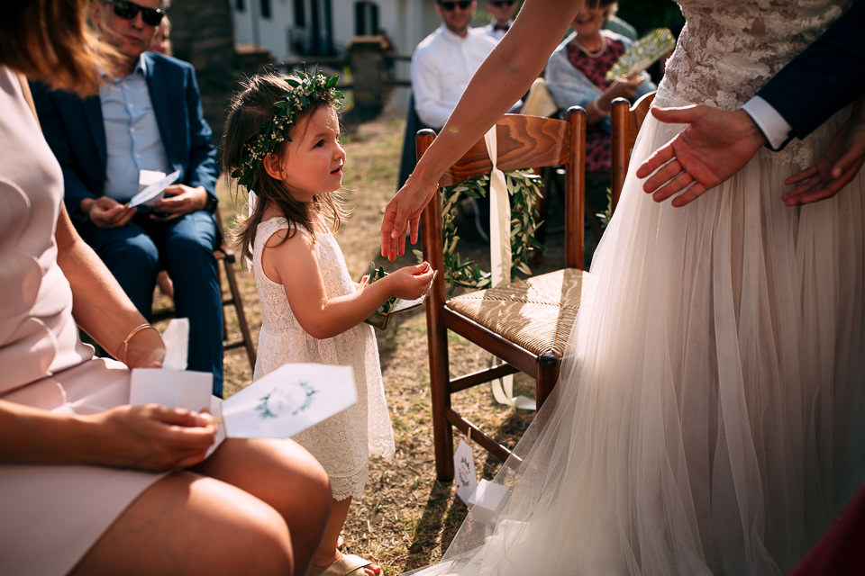 matrimonio con rito civile all'aperto