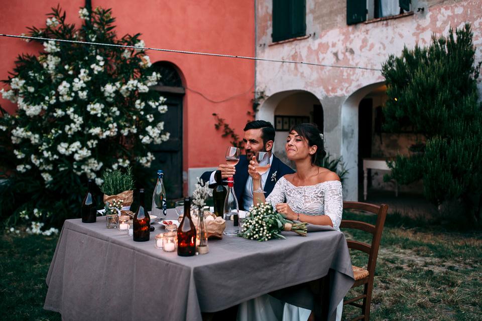 matrimonio estivo all'aperto