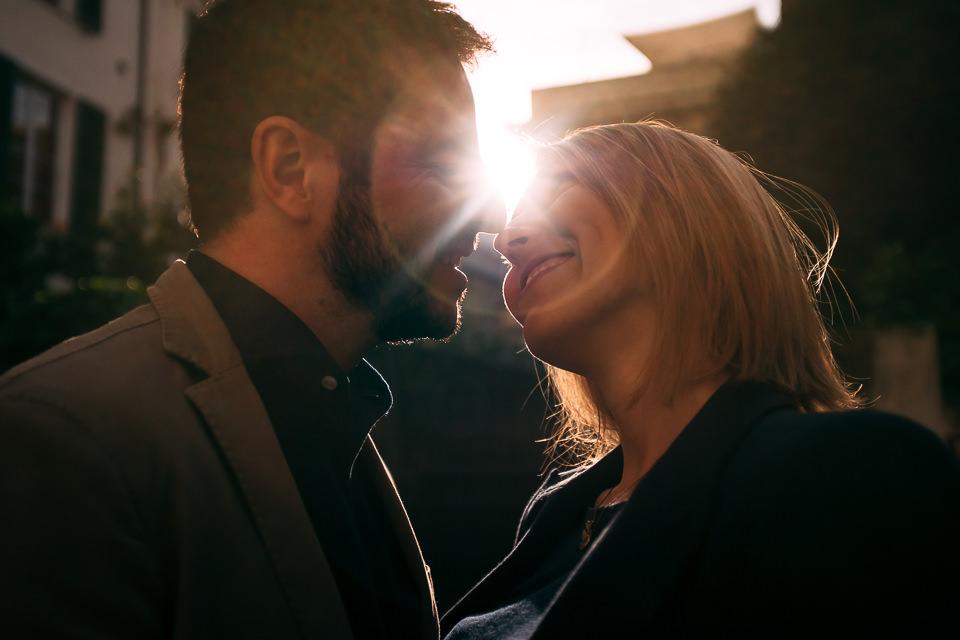 servizio fotografico di fidanzamento a noli