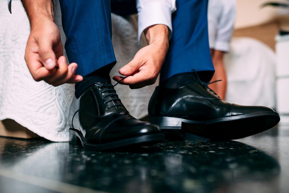 scarpe da sposo nere