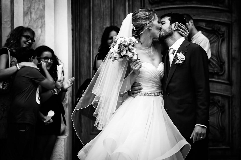 bacio degli sposi