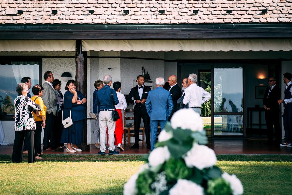 matrimonio villa repui con vista sul lago maggiore