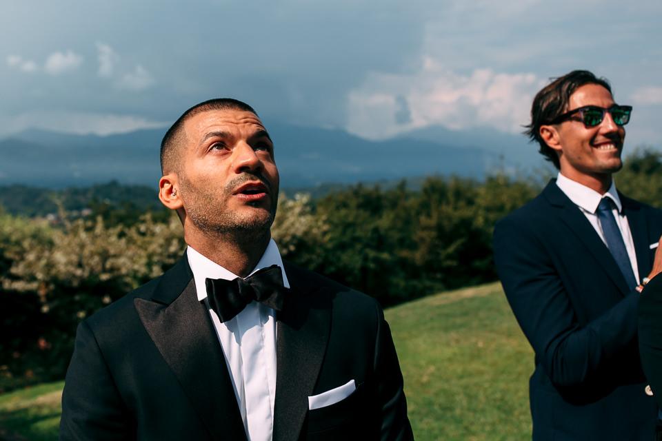 matrimonio in villa repui con vista sul lago maggiore
