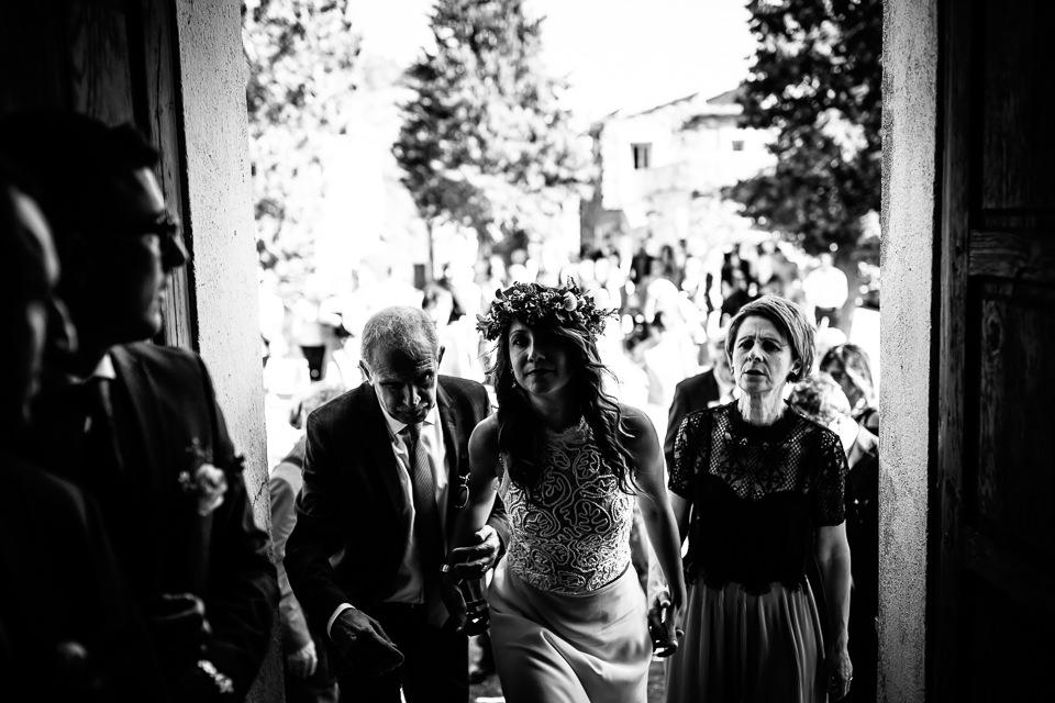 ingresso in chiesa della sposa