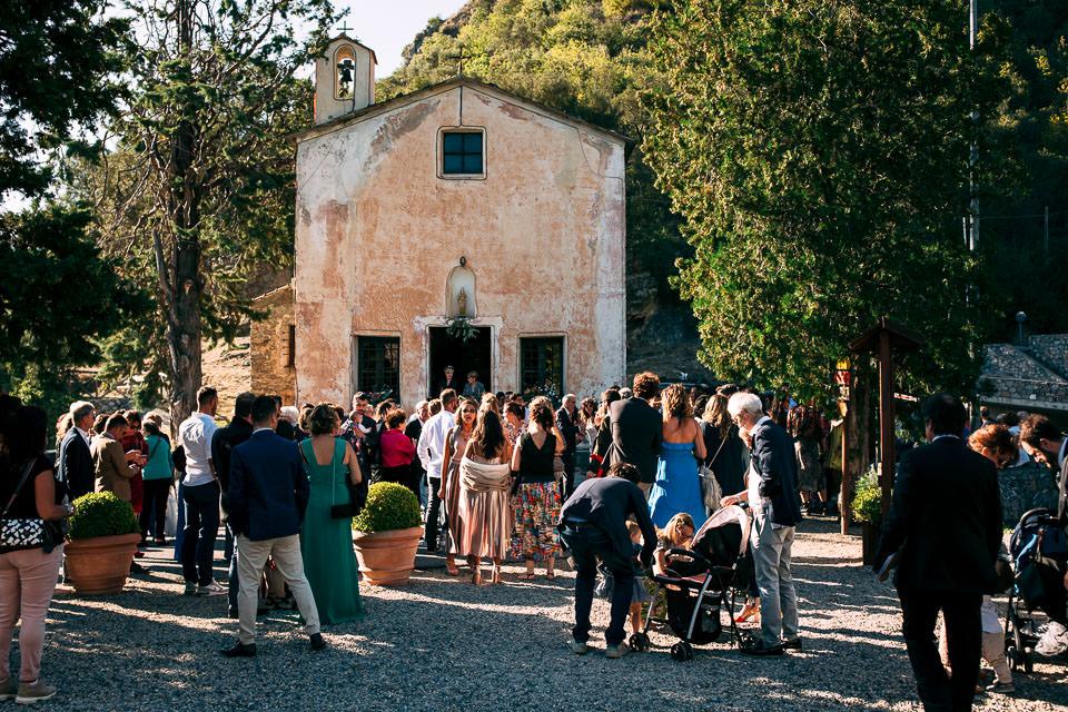 la chiesa di castelbianco