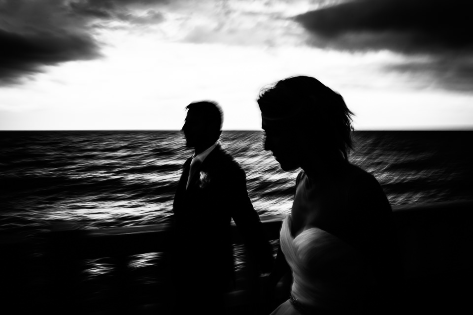 wedding on the sea
