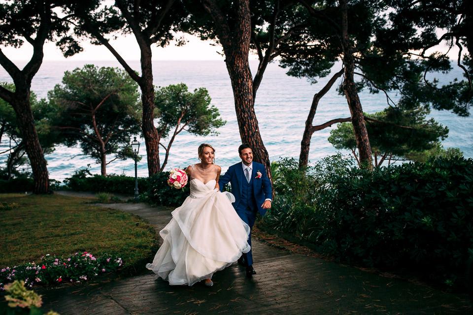 ingresso degli sposi in villa lagorio