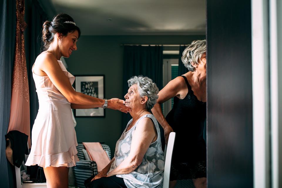 la nonna della sposa