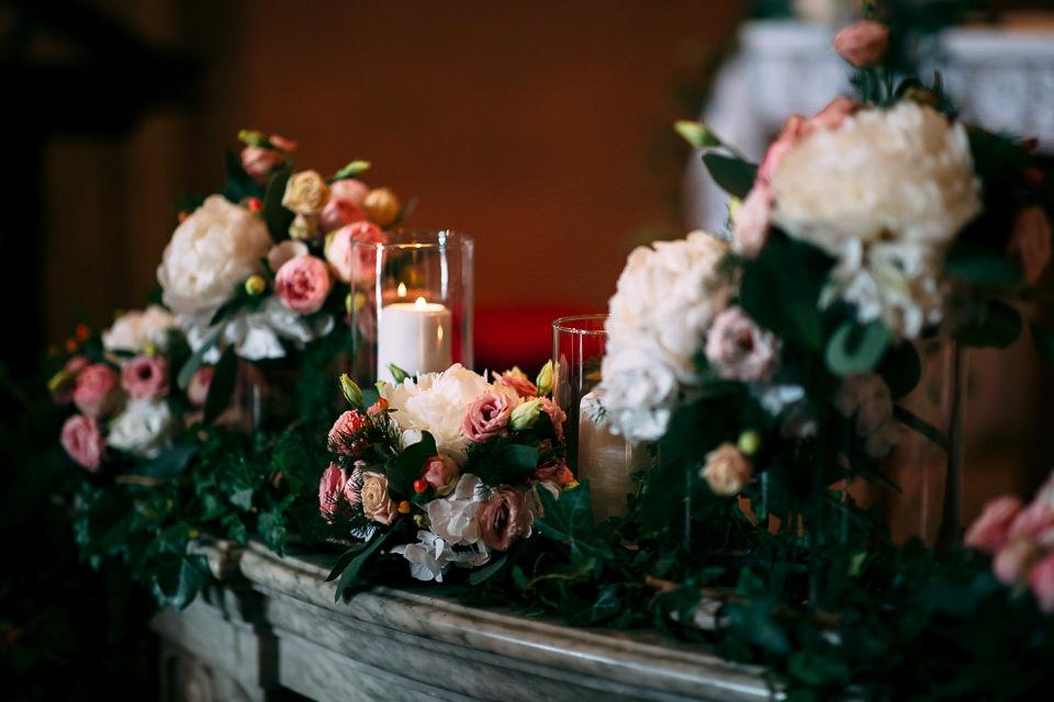 allestimento floreale matrimonio chiesa la morra