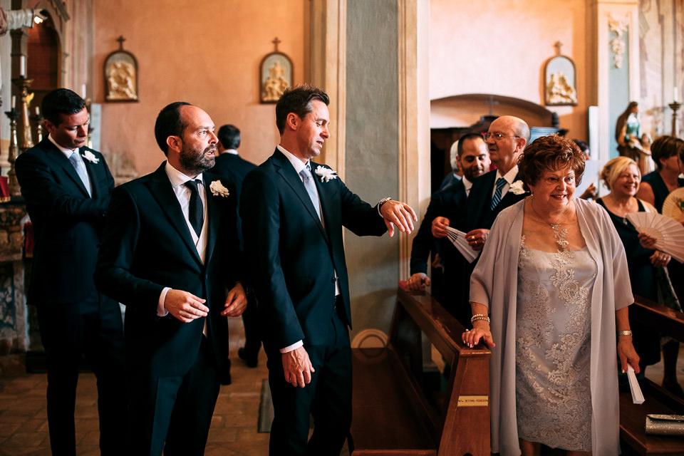 l'attesa dello sposo