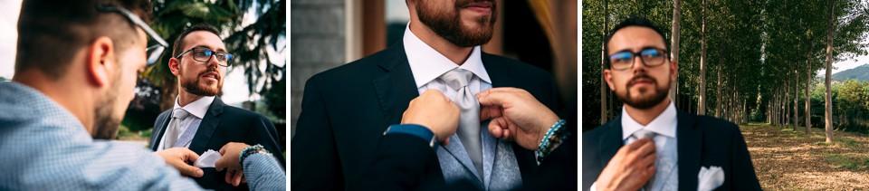 abito sposo blu