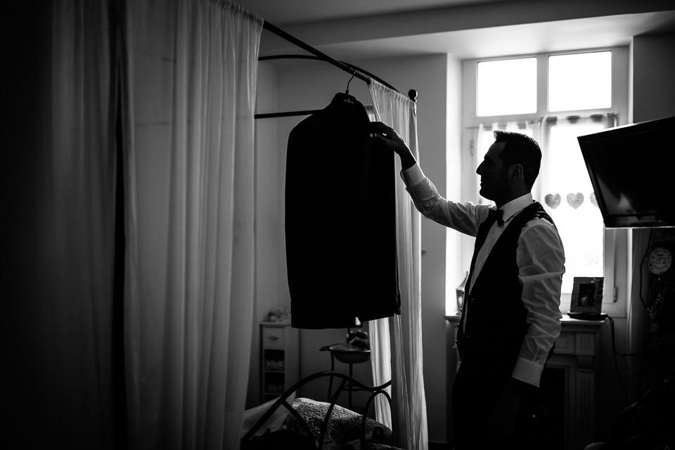 giacca dello sposo
