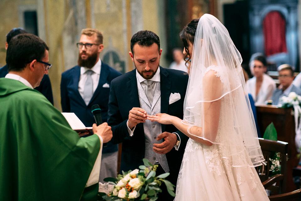 scambio degli anelli a monastero bormida