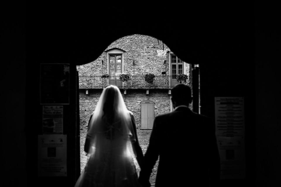 coppia di sposi a monastero bormida