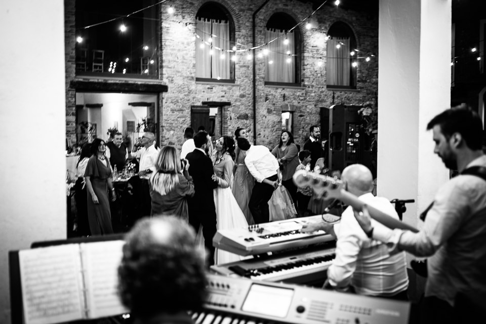 primo ballo di matrimonio sotto le stelle nel monferrato