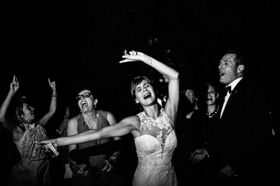 sposa che balla