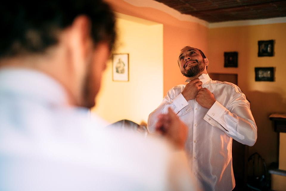 preparativo sposo a villa sorgiva