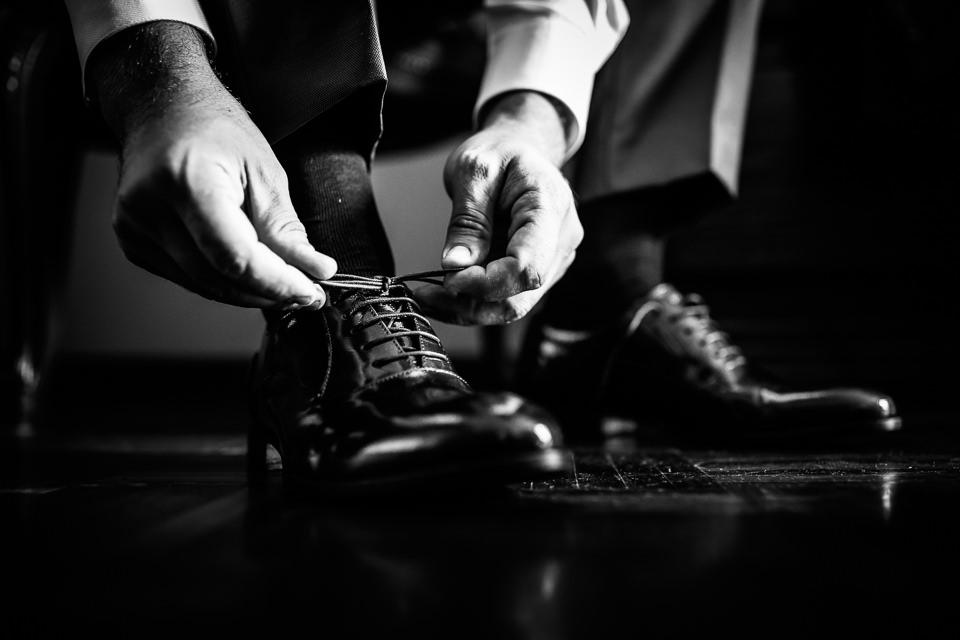 scarpe dello sposo