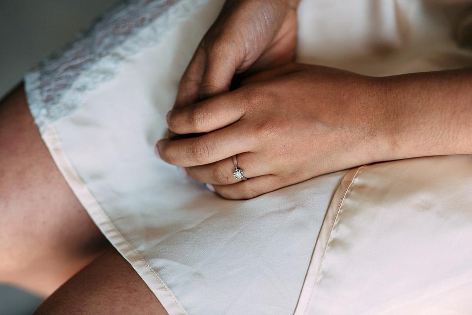 mani della sposa