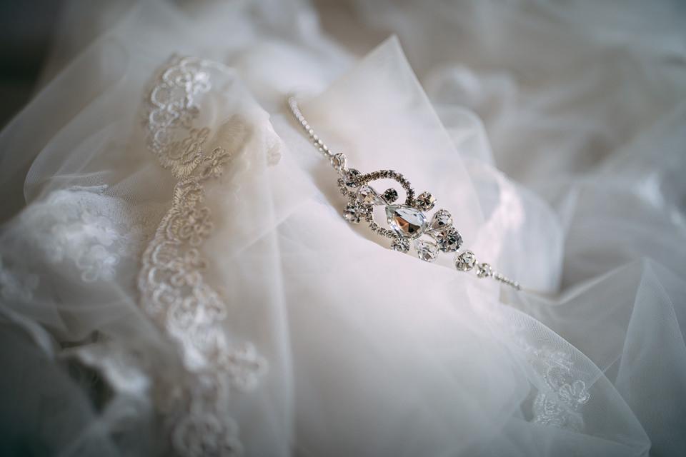 abito da sposa bianco