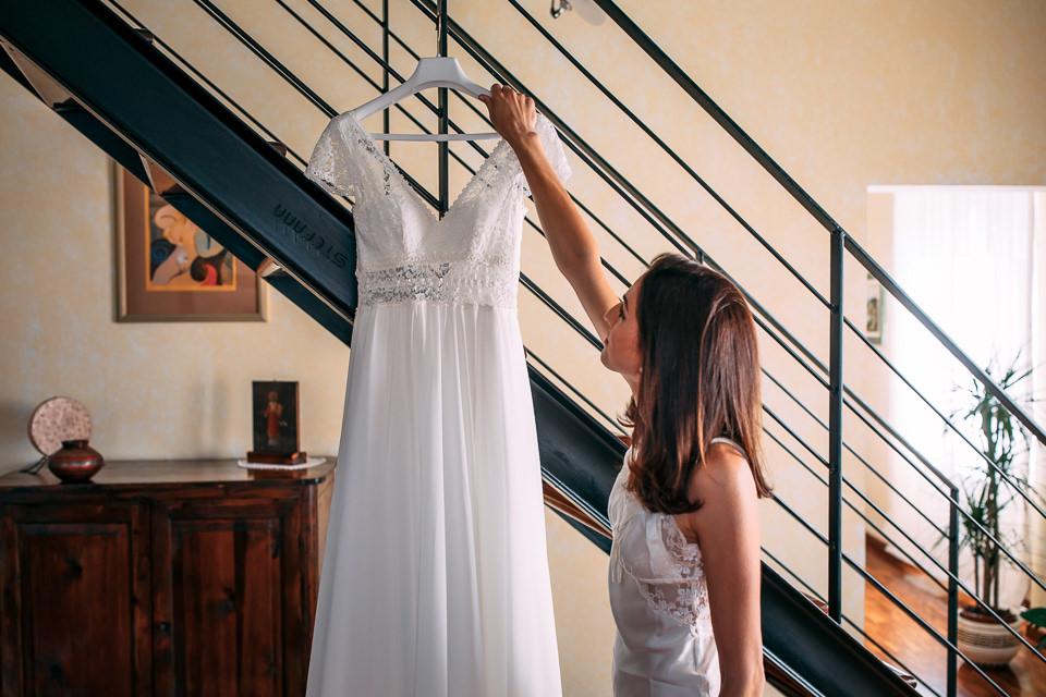 abito bianco sa sposa