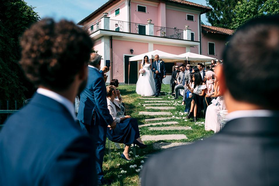 cerimonia di matrimonio villa sorgiva