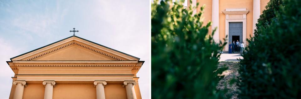 la chiesa di sartirana in lomellina