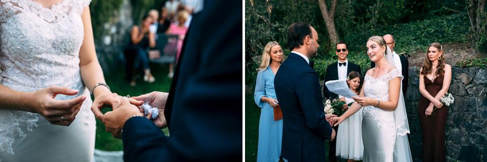swedish wedding at villa i limoni alassio